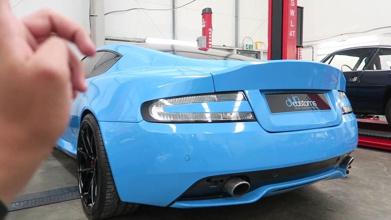 Custom Aston Martin Db9 By Dub Customs Youtube