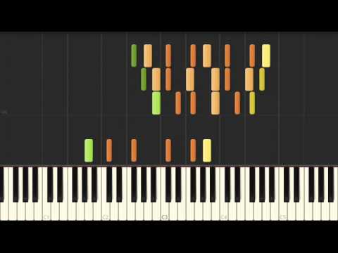 """""""For Therese"""" Piano Sonata No. 24 in F# major – BEETHOVEN [Piano Tutorial] (Synthesia)"""