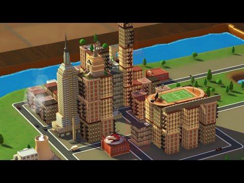 BUILDING A TINY MODEL CITY! - TINYTOPIA  
