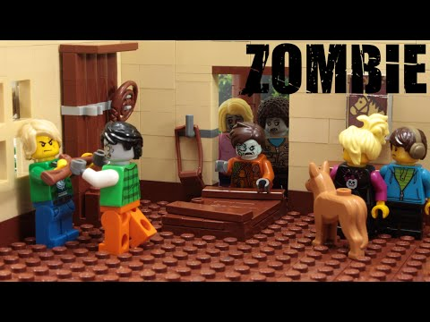 Lego Zombie Attack Episode 9 Stop Motion Animation