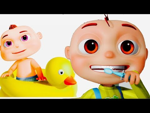 Thumbnail: Good Habits Songs For Kids | Brushing & Bathing Songs | Videogyan 3D Rhymes