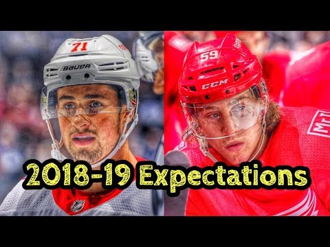 Detroit Red Wings 2018-19 Expectations