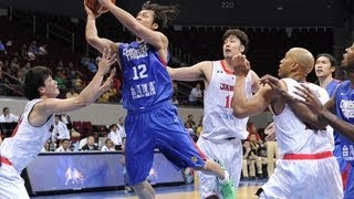 #FIBAAsia - Day 5: Japan v Chinese Taipei (highlights)