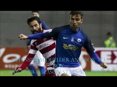 Azer Busuladzic -Season with Atromitos Athens 2017-18