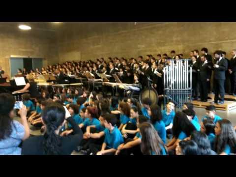 Carmina Burana - coral da Escola Municipal de Música SP