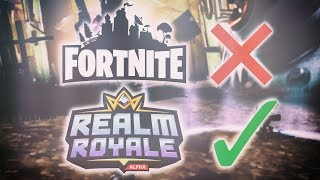 BETTER GAME FROM FORTNITE?! Realm Royale