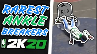 15 RAREST Ankle Breakers Of NBA 2K20