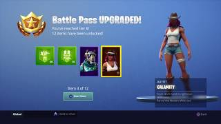 Download Fortnite Season 6 Buying All Battle Pass Rewards Unlocked