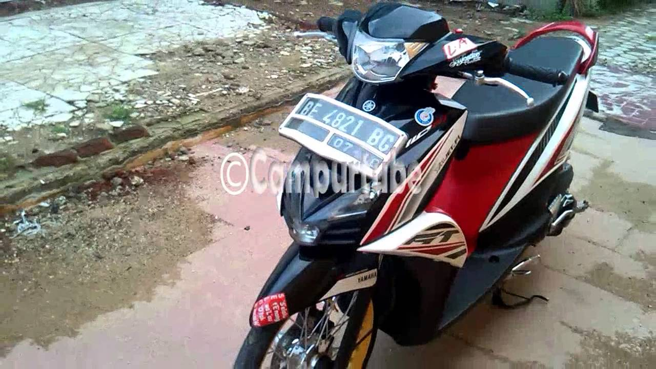Modifikasi Yamaha Mio GT Minimalis Lampung  YouTube