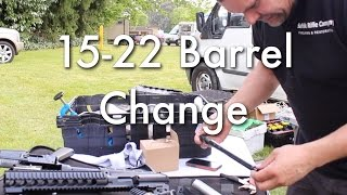 S&W 15-22 Barrel Change by Suffolk Rifle Company