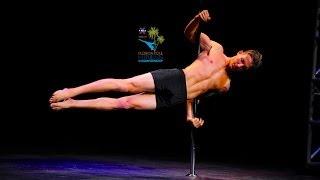 Florida Pole Fitness Championship 2014 - Tyler Barnett - Men's Division