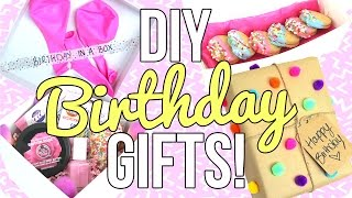 DIY Birthday Gifts!! Easy & Cheap!