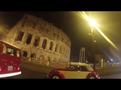 Vw bulli in Rome HD