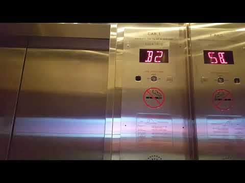 Fujitec Traction Keycardvator At Bond Place Hotel, Toronto ON