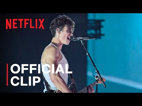 """Shawn Mendes Performs """"In My Blood""""   Shawn Mendes: Live in Concert   Netflix"""