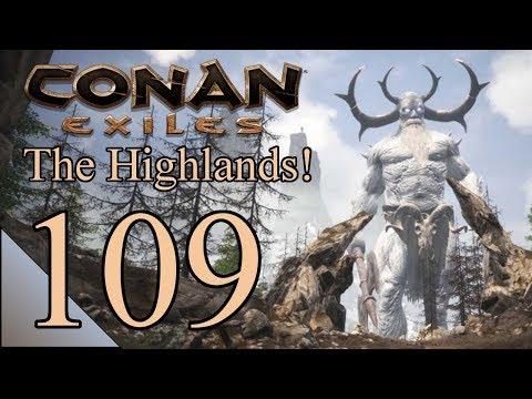 Conan Exiles 109:  Raiding Villages Can Be Fun!  Let's Play Conan Gameplay