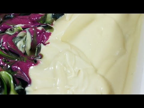 """Making and Cutting """"Pineapple & Jasmine"""" Cold Process Soap"""