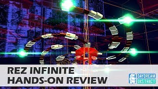 Finally on Daydream: Rez Infinite Hands-On Review! - Get This Game Now!