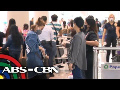 Mga paalis na OFW apektado ng coronavirus travel ban | TV Patrol