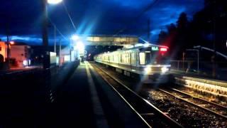 221系 快速 JR難波行き 掖上駅 到着・発車