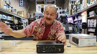 is a Mini amp really an Amplifier? review of Pyle PCAU48BT 2x 120 watts