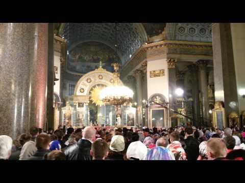 Easter 2014 in Saint Petersburg Kazan Cathedral
