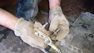 стук при езде, гремит разбитый сайлентблок рулевой тяги сенс