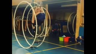 Amazing Tricks in German Wheel