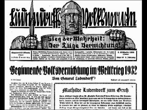 Ludendorffs Volkswarte, Jahrgang 1930, Erich Ludendorff,