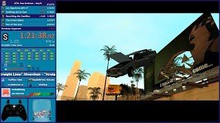 GTA San Andreas Any% Speedrun - Hugo_One Twitch Stream - 5/20/2019