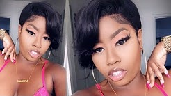 Bomb Short Pixie Cut Wig Review & Easy Styling Tutorial ft Eayon Hair   THE TASTEMAKER