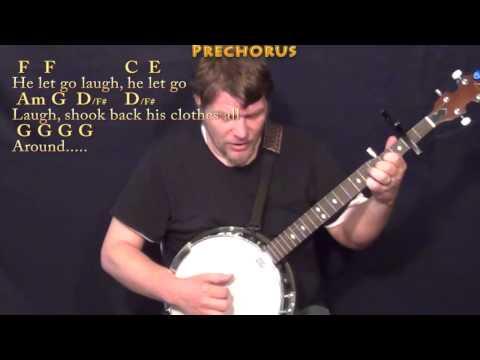 Mr Bojangles (Jerry Jeff Walker) Banjo Cover Lesson with Chords/Lyrics - Capo 2nd Fret