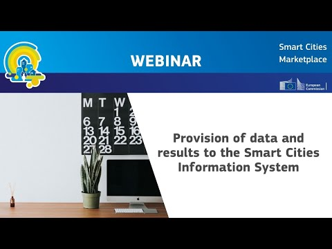 Webinar: Provision of data and results to the Smart Cities Information System