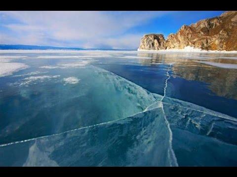 Зимний дайвинг на озере Байкал