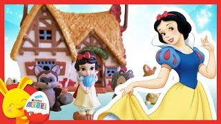 Histoire Disney Animators - Blanche Neige et les sept nains - Touni Toys Titounis