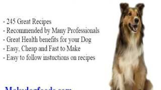 Recipe For Homemade Dog Food