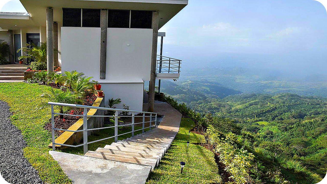 фото красивый дом в горах