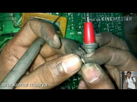 how to repair dead TCL circuit power supply fault