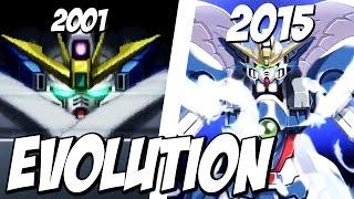 Evolution of TWIN BUSTER RIFLE | ツインバスターライフル 進化の軌跡 | スパロボ ウイングゼロ SRW Wing Zero
