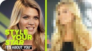 Umstyling von Nadine Klein🌹 - Sportlich und sexy!   Style Your Star - It's About You   ProSieben