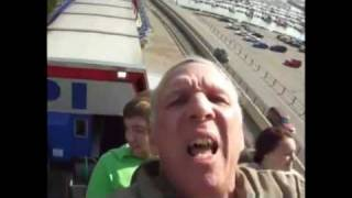 Roller Coaster Ride at Cedar Point, Ohio - The Roller Coaster Capital of the World.