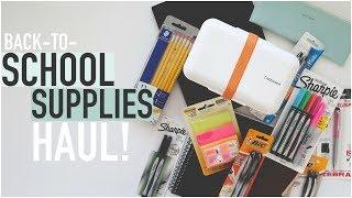 BACK TO SCHOOL SUPPLIES HAUL | University Student
