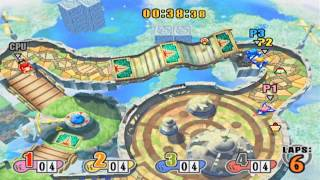 Kirby Air Ride: Top Ride Gameplay
