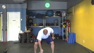 Dumbbell Clean & Press Instructional