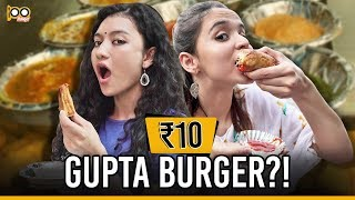 💰💰💰CHEAPEST Street Food Challenge In South Delhi | Cheap Eats In Rs 100 ft. Cherry Bomb
