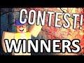 GFX / DRAWING CONTEST WINNERS!