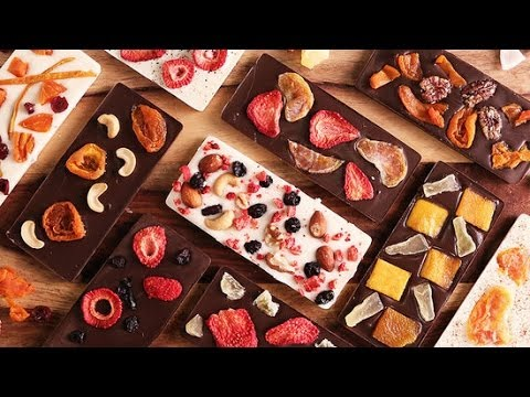 Diy Fruit And Nut Chocolate Bars Just Add Sugar Youtube