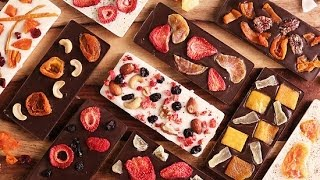 DIY Fruit and Nut Chocolate Bars | Just Add Sugar
