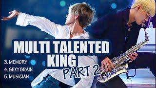 Kim Taehyung (BTS V) - Multi-talented King (part2)