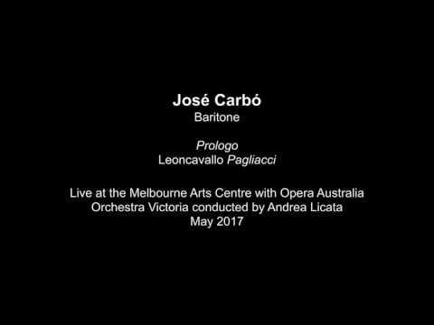 José Carbó - Prologo (Pagliacci)